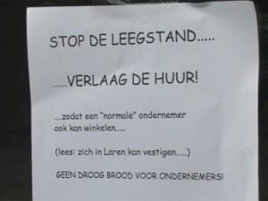 actie-leegstand-Laren